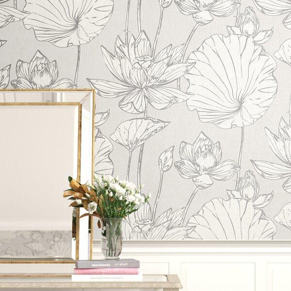 Lotus Flower Wallpaper Wayfairca