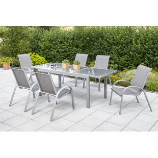 Brayton 6 Seater Dining Set By Sol 72 Outdoor