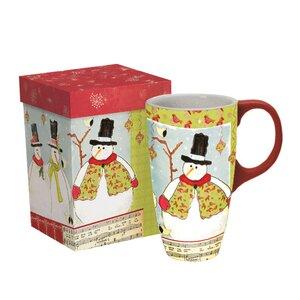 Home for the Holidays Latte Mug