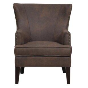 Gracie Oaks Lohan Wingback Chair
