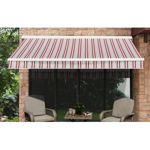 Sunjoy 14 ft. W x 10 ft. D Retractable Patio Awning