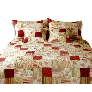3 Piece Reversible Quilt Set