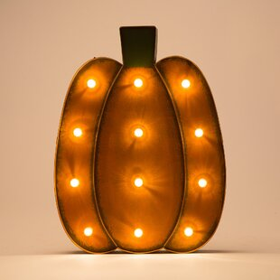 Marquee LED Pumpkin By Glitzhome