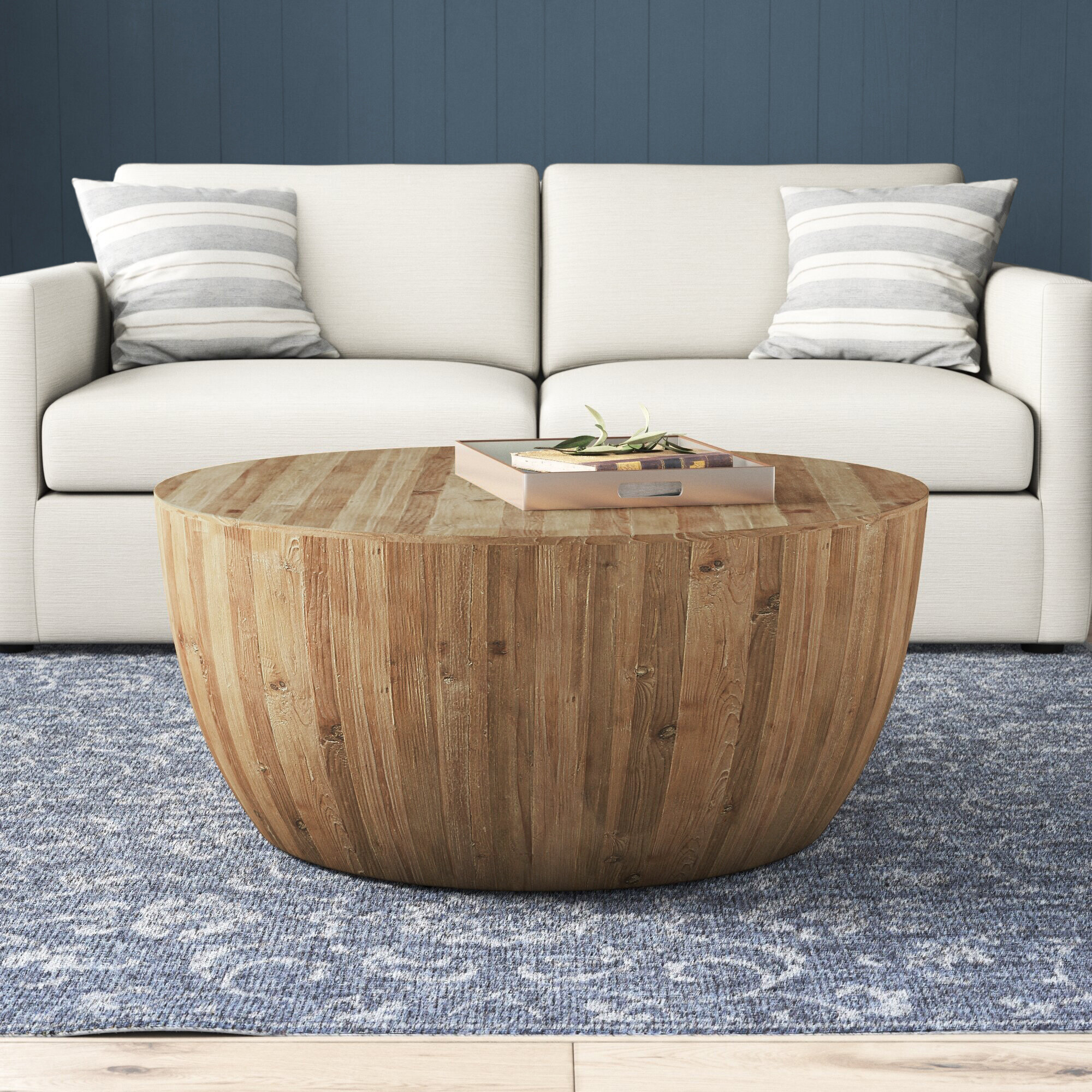 Round Wood Coffee Tables You Ll Love In 2020 Wayfair