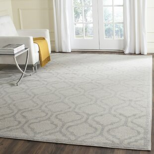 Carman Ivory/Light Gray Indoor/Outdoor Area Rug