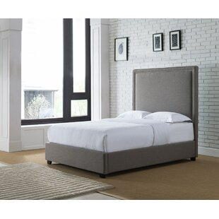 Eldred Upholstered Panel Bed by Canora Grey