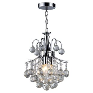 Warehouse of Tiffany Arden Victorian 3-Light Chandelier