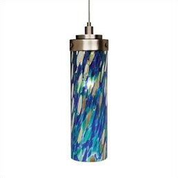 Lyerly 1-Light Cylinder Pendant by Ebern Designs