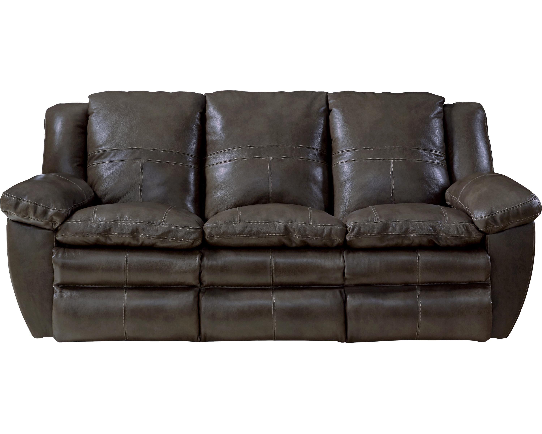 Catnapper Aria Leather Reclining Sofa Wayfair