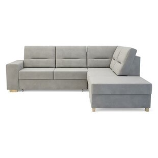 Waldorf Reversible Corner Sofa Bed By Metro Lane