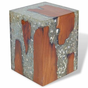 Clifton Teak Resin Stool By Union Rustic