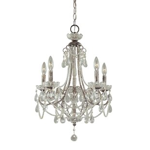 Rosdorf Park Brookford 5-Light Candle Style Chandelier