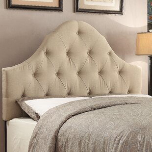 Reviews Jones Upholstered Panel Headboard by Darby Home Co