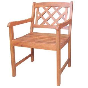 International Concepts X-Back Arm Chair