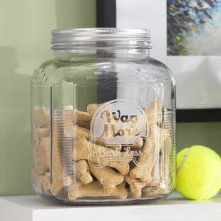 Wag More Bark Less 4 qt. Pet Treat Jar