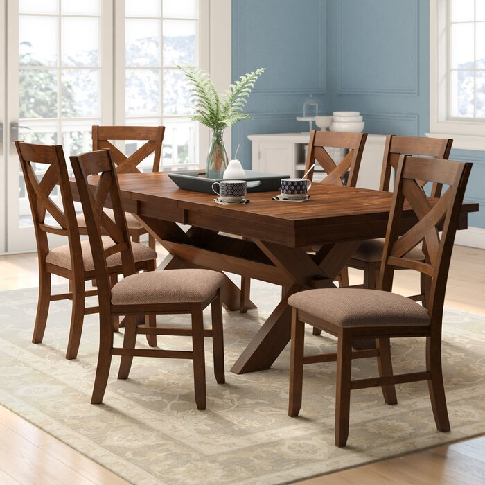 Warsaw 7 Piece Extendable Dining Set