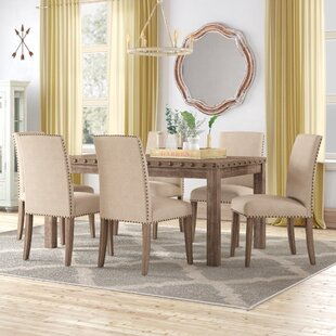 Mach 7 Piece Solid Wood Dining Set Gracie Oaks