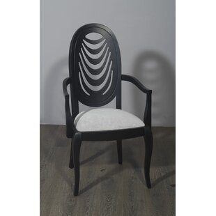 Mcdade Solid Wood Dining Chair by Bloomsbury Market