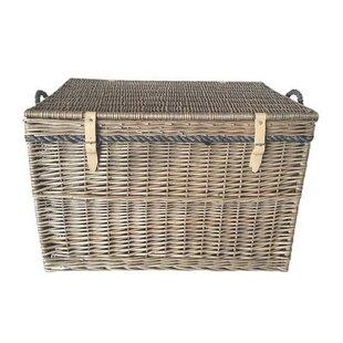 Large Storage Wicker Basket  sc 1 st  Wayfair & Large Storage Baskets | Wayfair.co.uk