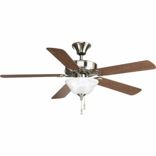 Check Prices 52 Scotty 5-Blade Steel Ceiling Fan By Red Barrel Studio
