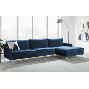 Modern Contemporary Extra Deep Seat Sectional Sofa Allmodern