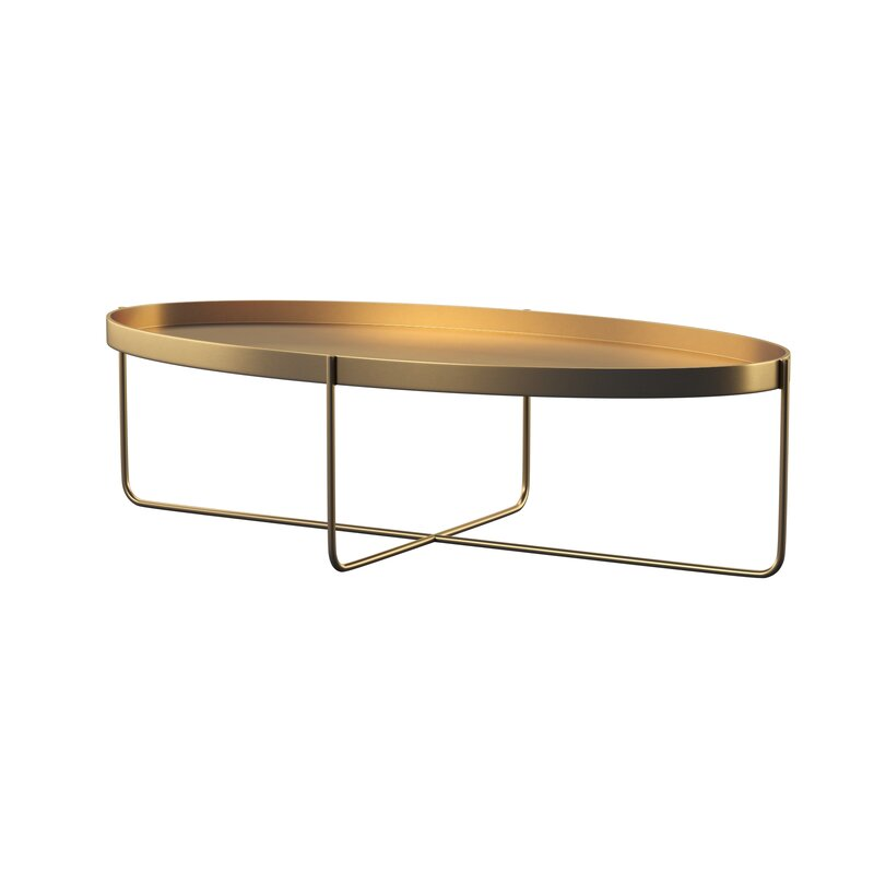 Menburg Coffee Table With Tray Top