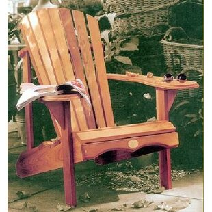 Elliana Solid Wood Adirondack Chair