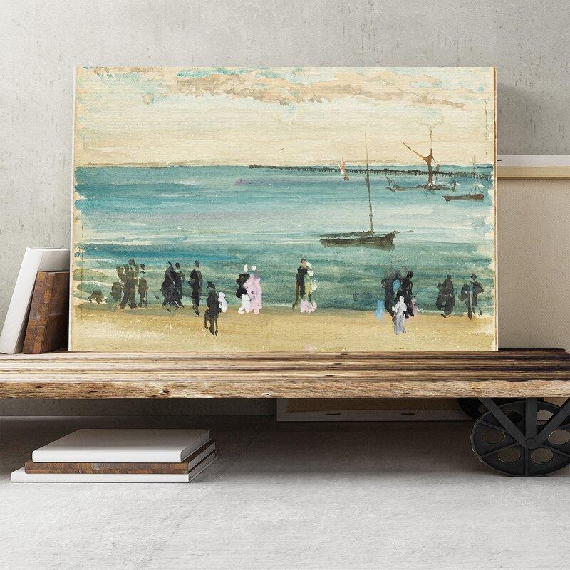 U0027Southend Pieru0027 By James Abbott McNeill Whistler Painting Print On Canvas. U0027