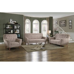 Find for Pante Macassar Configurable Living Room Set by George Oliver Reviews (2019) & Buyer's Guide