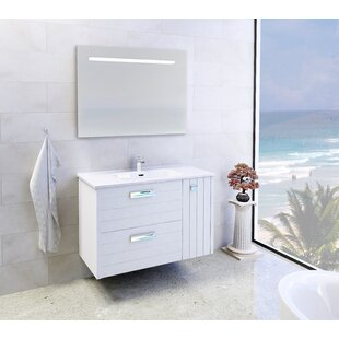 Jennifer 1000mm Wall Mount Single Vanity Unit By Belfry Bathroom
