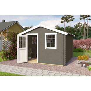 Benoit 11 X 10 Ft. Tongue & Groove Summer House By Sol 72 Outdoor