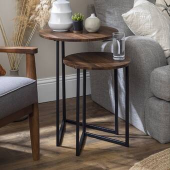 Container Isabella 2 Piece Coffee Table Set Reviews Wayfair