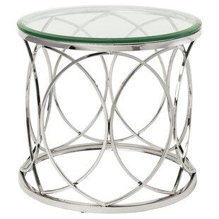 Juliette End Table by Nuevo