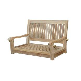 Del-Amo Straight Swing Teak Garden Bench by Anderson Teak