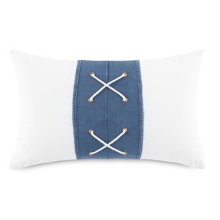 Rickert Sailor Cotton Lumbar Pillow