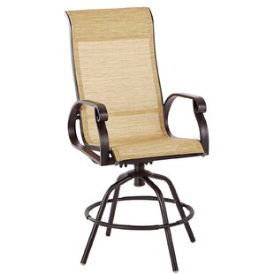 Whipton Swivel Patio Dining Chair (Set of 2)