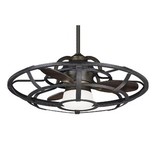Ceiling fans joss main 26 fairy 3 blade outdoor ceiling fan with remote aloadofball Images