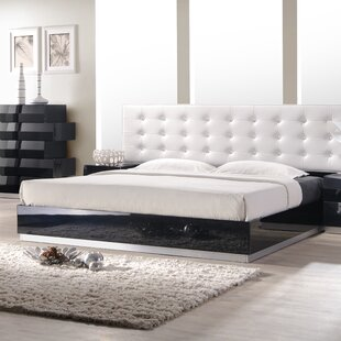 Find Matt Upholstered Platform Bed by Wade Logan Reviews (2019) & Buyer's Guide
