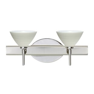 Besa Lighting Domi 2-Light Vanity Light