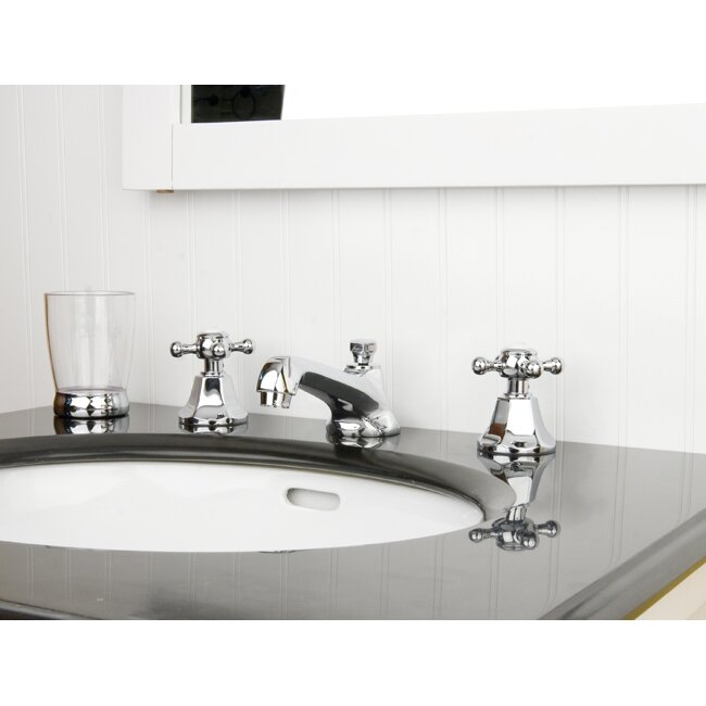 Metropolitan Widespread Bathroom Faucet With Pop Up Drain