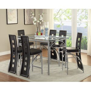 Catt 7 Piece Dining Set by Orren Ellis