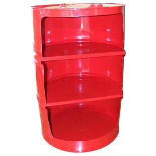 Drum Works Furniture Shelf Unit Accent Cabinet