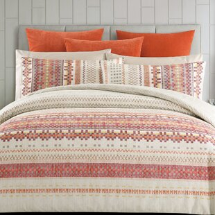 Millwood Pines Swarthout Cotton Reversible Duvet Set
