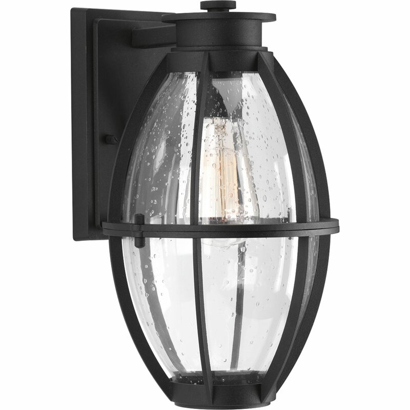 Longshore Tides Janay 1-Light Outdoor Wall Lantern
