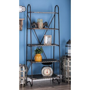 Cole & Grey Etagere Bookcase