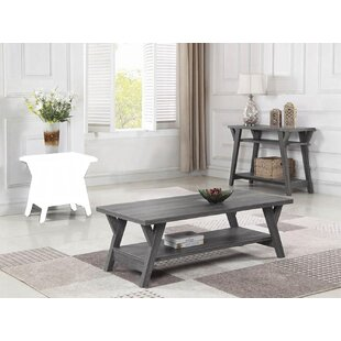 Gaye 2 Piece Coffee Table Set by Highland Dunes