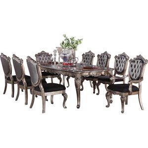 Victoria II 9 Piece Dining Set by Infini Furnish..