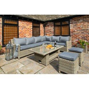 Sudduth 8 Seater Rattan Corner Sofa Set By Sol 72 Outdoor