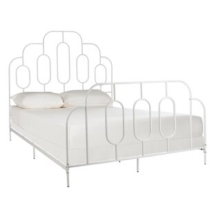 Dillonvale Metal Retro Panel Bed