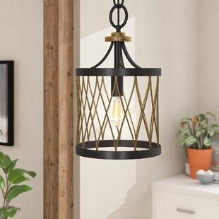 Denise 1-Light Lantern Pendant by Laurel Foundry Modern Farmhouse